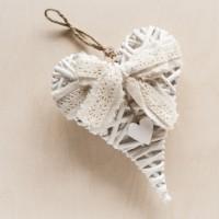 Μπομπονιέρα βάπτισης διακοσμητικό Καρδιά κωδ.: 14A1234