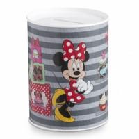 Μπομπονιέρα βάπτισης Disney κουμπαράς μεταλλικός Mickey, Minnie κωδ.: tm13057