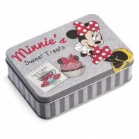 Μπομπονιέρα βάπτισης Disney κουτάκι μεταλλικό Mickey, Minnie κωδ.: tk26957