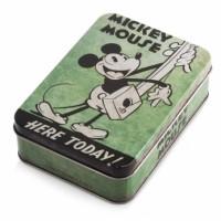 Μπομπονιέρα βάπτισης Disney κουτάκι μεταλλικό Mickey, Minnie κωδ.: tk26965