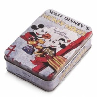 Μπομπονιέρα βάπτισης Disney κουτάκι μεταλλικό Mickey, Minnie κωδ.: tk26966