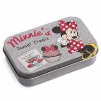 Μπομπονιέρα βάπτισης Disney κουτάκι μεταλλικό Mickey, Minnie κωδ.: tk56557