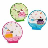 Μπομπονιέρα βάπτισης ρολόι Cup Cake κωδ.: 11E292