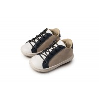 Babywalker Παπούτσια Βάπτισης δετό τρίχρωμο sneaker 3039