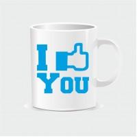 Κούπα με I Like You