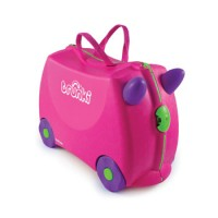 Trunki Trixie (Pink) Παιδική Βαλίτσα Ταξιδίου