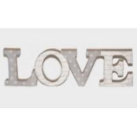 ΞΥΛΙΝΟ LOVE ΒΑΜΒΑΚΕΡΟ ΑΓΓΕΛΟΣ 40x11.5cm 17-2100 0621143