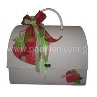 Βαλίτσα φράουλα κωδ.469