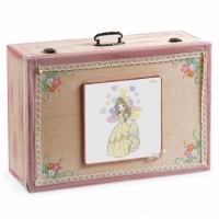 Κουτί βάπτισης Βαλίτσα με Πριγκίπισσα κωδ.6302