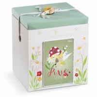 Κουτί βάπτισης Disney Κύβος με Tinkerbell