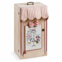 Κουτί βάπτισης Disney Ντουλάπα με Minnie κωδ.6292