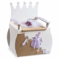 Κουτί βάπτισης Disney Παγκάκι με Cinderella κωδ.6301