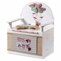 Κουτί βάπτισης Disney Παγκάκι με Minnie