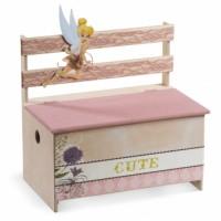 Κουτί βάπτισης Disney Παγκάκι με Tinkerbell κωδ.6308