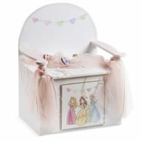 Κουτί βάπτισης Παγκάκι με Πριγκίπισσα κωδ.6305