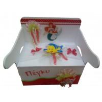 Κουτί βάπτισης Σεντούκι με Νεράιδα