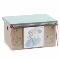 Κουτί βάπτισης Σεντούκι με Πριγκίπισσα