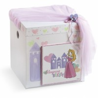 Κουτί βάπτισης Σεντούκι με Πριγκίπισσα κωδ.6304