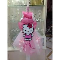 Λαμπάδα Κερί με Hello Kitty