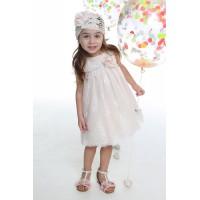 Mi Chiamo Φόρεμα Βάπτισης K-4001