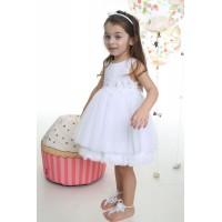 Mi Chiamo Φόρεμα Βάπτισης K-4004-2