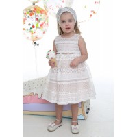 Φόρεμα Βάπτισης Mi Chiamo K-4005