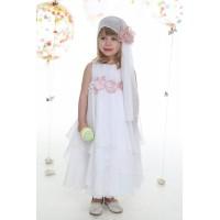 Φόρεμα Βάπτισης Mi Chiamo K-4006-4