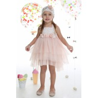 Mi Chiamo Φόρεμα Βάπτισης K-4007-3