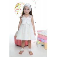 Mi Chiamo Φόρεμα Βάπτισης K-4008-3