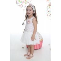 Mi Chiamo Φόρεμα Βάπτισης K-4010