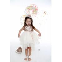 Φόρεμα Βάπτισης Mi Chiamo K-4011