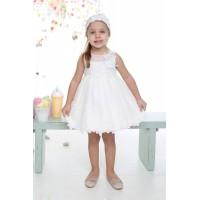 Mi Chiamo Φόρεμα Βάπτισης K-4021-3