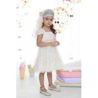 Mi Chiamo Φόρεμα Βάπτισης K-4024-2