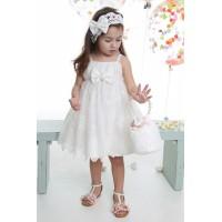 Mi Chiamo Φόρεμα Βάπτισης K-4030