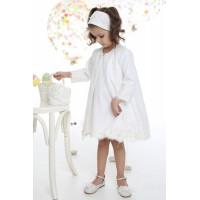 Φόρεμα Βάπτισης Mi Chiamo K-4031-2