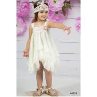 Mi Chiamo Φόρεμα Βάπτισης K4133-2