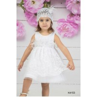 Mi Chiamo Φόρεμα Βάπτισης K4153