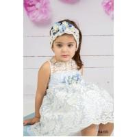 Mi Chiamo Φόρεμα Βάπτισης K4155-2
