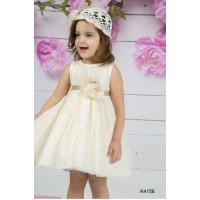Mi Chiamo Φόρεμα Βάπτισης K4156-2
