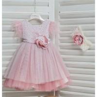 Φόρεμα Βάπτισης Mi Chiamo K4163