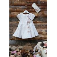 Φόρεμα Βάπτισης Mi Chiamo K3752