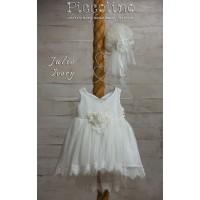 Piccolino Φόρεμα Βάπτισης DR19S05 JULIE IVORY