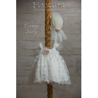 Piccolino Φόρεμα Βάπτισης DR19S19 LEONIE IVORY