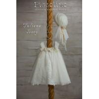 Piccolino Φόρεμα Βάπτισης DR19S33 TULIANA IVORY