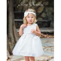 Φόρεμα Βάπτισης Stova Bambini AW18-19 G2