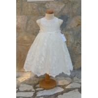 Φόρεμα Βάπτισης Bebe en Rose 64888