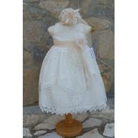 Φόρεμα Βάπτισης Bebe en Rose 65285
