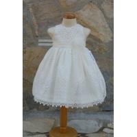 Φόρεμα Βάπτισης Bebe en Rose 65375