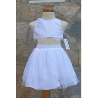 Φόρεμα Βάπτισης Bebe en Rose 67168