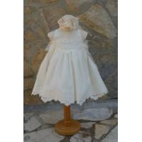 Φόρεμα Βάπτισης Bebe en Rose 68650